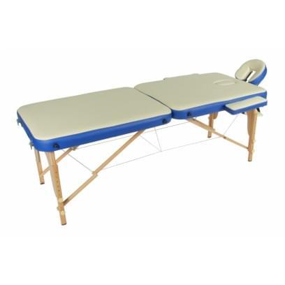 Массажный стол складной деревянный JF-AY01 2-х секционный М/К - 1